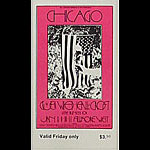 BG # 211 Chicago Fillmore Friday ticket BG211