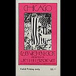 BG # 211 Chicago Fillmore Friday ticket BG211