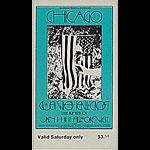 BG # 211 Chicago Fillmore Saturday ticket BG211