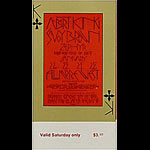 BG # 213 Albert King Fillmore Saturday ticket BG213