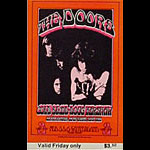BG # 219 Doors Fillmore Friday ticket BG219