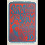BG # 22-2 Sam the Sham & Pharaohs Fillmore Poster BG22