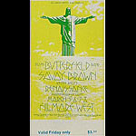 BG # 221 Butterfield Blues Band Fillmore Friday ticket BG221