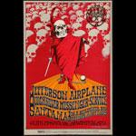 BG # 222-1 Benefit Concert For The Grateful Dead Fillmore Poster BG222