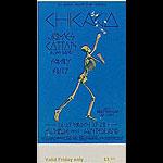 BG # 225 Chicago Fillmore Friday ticket BG225