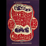 BG # 23-1 Jefferson Airplane Fillmore Poster BG23