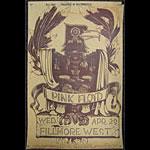 BG # 230-1 Pink Floyd Fillmore Poster BG230