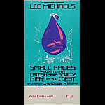 BG # 232 Lee Michaels Fillmore Friday ticket BG232