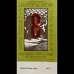 BG # 237 Grateful Dead Fillmore Friday ticket BG237