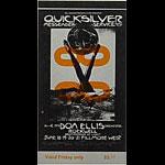 BG # 239 Quicksilver Messenger Service Fillmore Friday ticket BG239