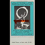 BG # 242 Quicksilver Messenger Service Fillmore Thursday - Sunday ticket BG242