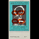 BG # 242 Quicksilver Messenger Service Fillmore Friday ticket BG242