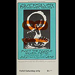 BG # 242 Quicksilver Messenger Service Fillmore Saturday ticket BG242