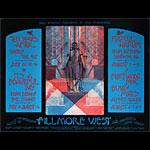 BG # 245-1 Ten Years After Fillmore Poster BG245