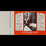 BG # 245 Ten Years After Fillmore Friday - Saturday ticket BG245
