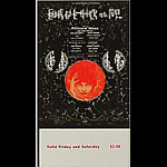 BG # 247 Iron Butterfly Fillmore Friday - Saturday ticket BG247