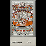 BG # 248 Santana Fillmore Friday ticket BG248