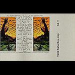 BG # 250 Chuck Berry Fillmore Saturday ticket BG250