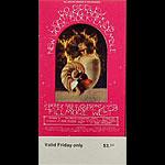 BG # 253 Bo Diddley Fillmore Friday ticket BG253
