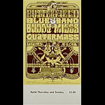 BG # 261 Butterfield Blues Band Fillmore Thursday - Sunday ticket BG261