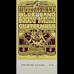 BG # 261 Butterfield Blues Band Fillmore Thursday - Sunday ticket BG261