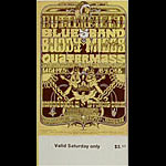 BG # 261 Butterfield Blues Band Fillmore Saturday ticket BG261