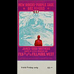 BG # 271 New Riders of the Purple Sage Fillmore Friday ticket BG271