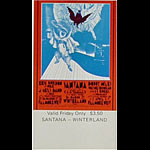 BG # 275 Eric Burdon and War Fillmore Friday ticket BG275