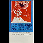 BG # 275 Eric Burdon and War Fillmore Saturday ticket BG275