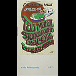 BG # 277 Taj Mahal Fillmore Friday ticket BG277