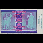 BG # 278 Mike Bloomfield Fillmore Saturday ticket BG278