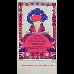 BG # 283 Albert King Fillmore Thursday - Sunday ticket BG283