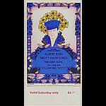 BG # 283 Albert King Fillmore Saturday ticket BG283