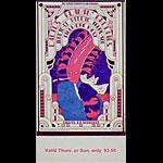 BG # 284 Cactus Fillmore Thursday - Sunday ticket BG284