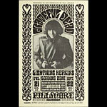BG # 32-b Grateful Dead Fillmore Poster BG32