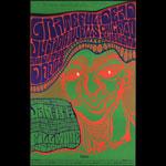 BG # 45-2 Grateful Dead Fillmore Poster BG45