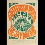 BG # 5-1 Jefferson Airplane Fillmore Poster BG5