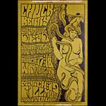 BG # 55-1 Chuck Berry Fillmore Poster BG55