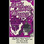 BG # 70 Chuck Berry Fillmore Tuesday - Sunday ticket BG70
