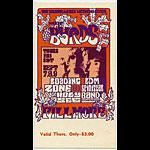 BG # 82 Byrds Fillmore Thursday ticket BG82