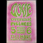 BG # 21-2 Love Fillmore Poster BG21