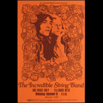 BG # ISBo-1 Incredible String Band Fillmore Poster BGISBo