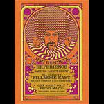 BG # NY7-r Jimi Hendrix Experience Fillmore postcard BGNY7