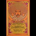 BG # NY7-2 Jimi Hendrix Experience Fillmore Poster BGNY7