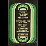 BG # NY680517-1 Byrds Fillmore postcard BGNY680517