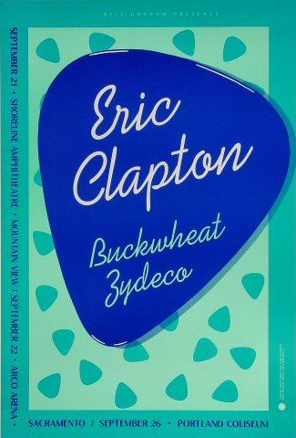 Eric Clapton Bill Graham Presents BGP26 Poster