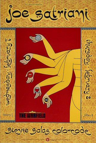Joe Satriani Bill Graham Presents BGP35 Poster