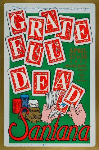 Grateful Dead Bill Graham Presents BGP41 Poster