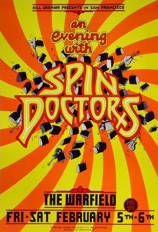Spin Doctors Bill Graham Presents BGP71 Poster