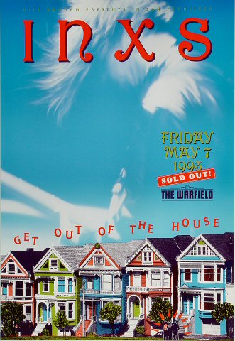 INXS Bill Graham Presents Poster BGP75